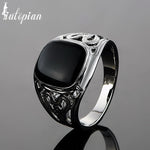 Iutopian Brand New Arrival Men Classic Ring Anels For Man Or Women Anti Allergy Big Size US Size 7 to 12 Gift #E0299