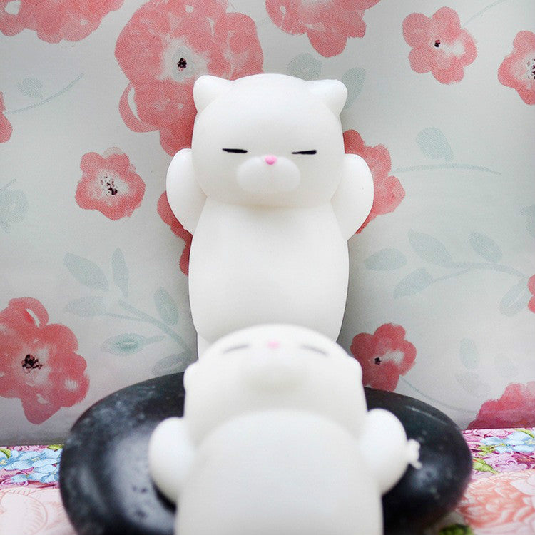 Kawaii Japan Mochi Animal Lazy Cat Mini Decompress Squishy Squeeze Soft Slow Rising Healing Toy Funny Kids Children Toys Gift.