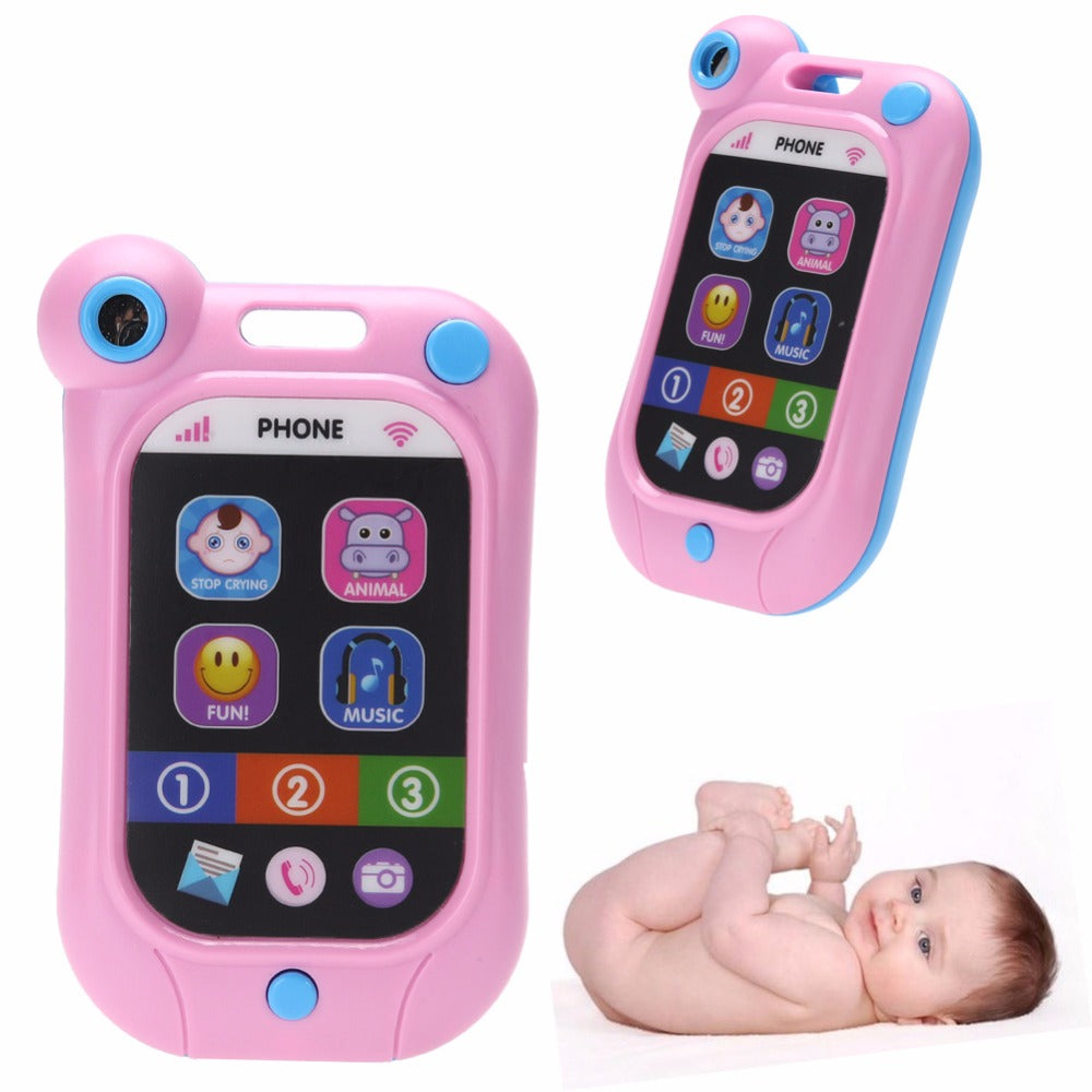 Kids Phone Children's Educational Simulation Music Mobile Toy Phone for Child Birthday Gift Toy Phones High Quality