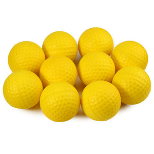 Kofull 12pcs/lot PU Foam Sponge Golf Practice Balls Indoor Outdoor Practice Training Balls Balle de golf Golf Pelotas Ballen