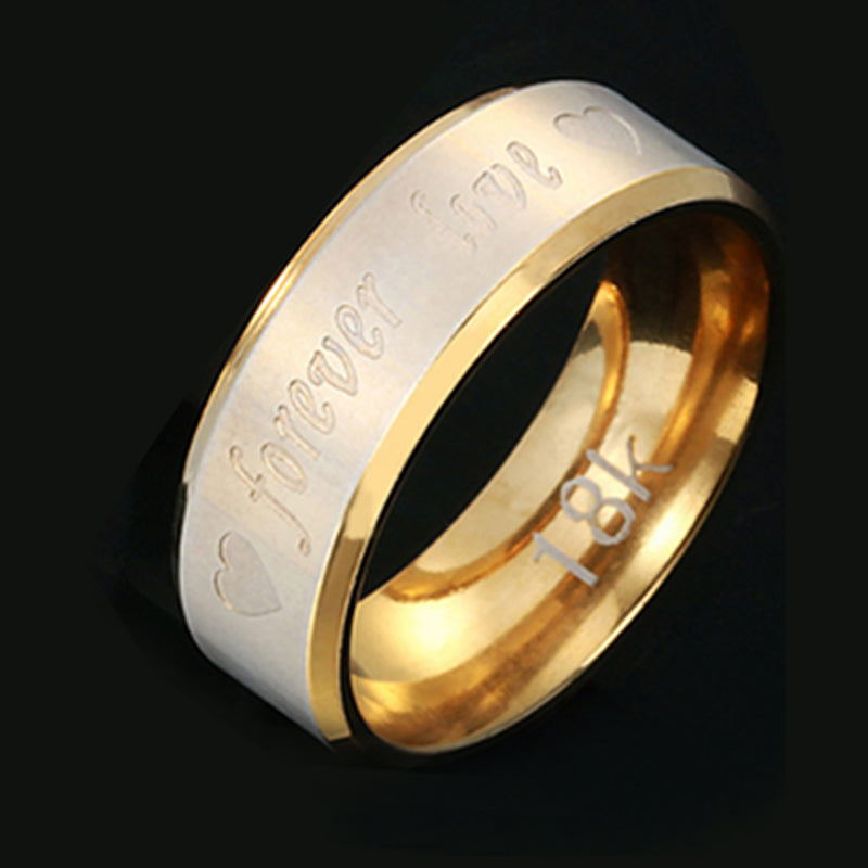 LNRRABC 1pc New Hot Sale Classics Men/Women vintage Couple Ring Forever Love Wedding Engagement Jewelry rings for women