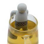 Little people tea infuser Interesting pot Kitchen Tools Cute Mr Teapot kettle boil/Tea Strainer/Coffee & Tea Sets/silicone mug