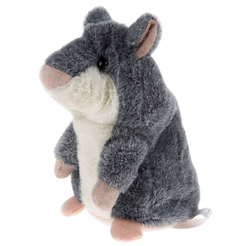 Lovely For Children Talking Hamster Plush Toy Sound Record Speaking Hamster Talking Toys