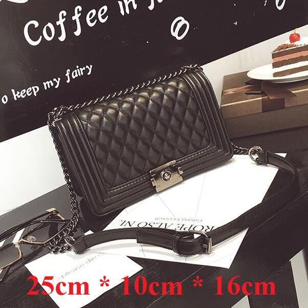 70b11c194ae8 Luxury Handbags Women Bags Designer Chain Bag PU Leather Small Crossbody  Bags For Women Messenger Bags