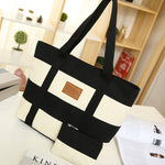 Luxury Handbags Women Bags Designer Handbags High Quality Canvas Casual Tote Bags Shoulder Bags Women Bag Female Bolsa Feminina