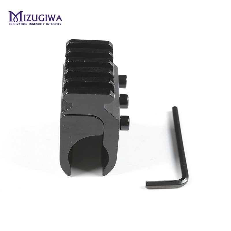 MIZUGIWA Tactical 20mm Picatinny Weaver Rail Base Adapter Hunting Rifle Gun Scope Converter Laser Sight Base Flashlight Mount