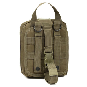 MY DAYS Tactical Ifak First Aid Bag MOLLE EMT Rip-Away Medical Military Utility Pouch rescue package for Travel hunting hiking