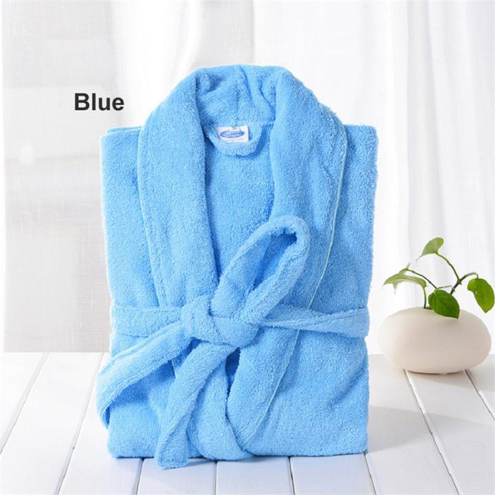 Male Robes Sexy Cotton Bathrobe Men Terry Cloth Robe Mens Bathrobes Pajamas Kimono Bath Robe Men Dressing Gown PA1822M