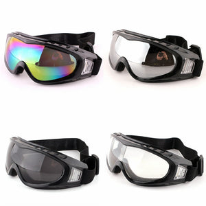 Men Women Winter Snow Sports Goggles Ski Snowboard Snowmobile Sunglasses Sun Glasses Anti-Fog Dustproof Windproof Eyewear UV400