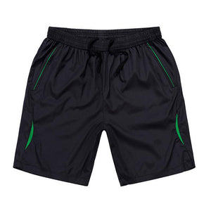 Men shorts summer 2017 new very thin loose youth beach shorts male plus size cheap casual teenage boy black quick drying