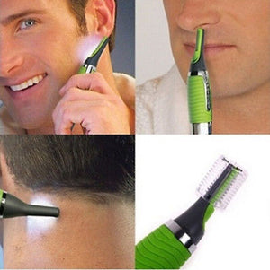 Micro Trimmer Remover Touch Max Personal Hair Ear Nose Neck EyebrowTrimmer Remover Brand new Green