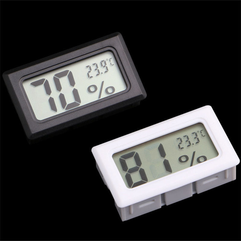 Mini Digital LCD Indoor Convenient Temperature Sensor Humidity Meter Thermometer Hygrometer Gauge Free Shipping