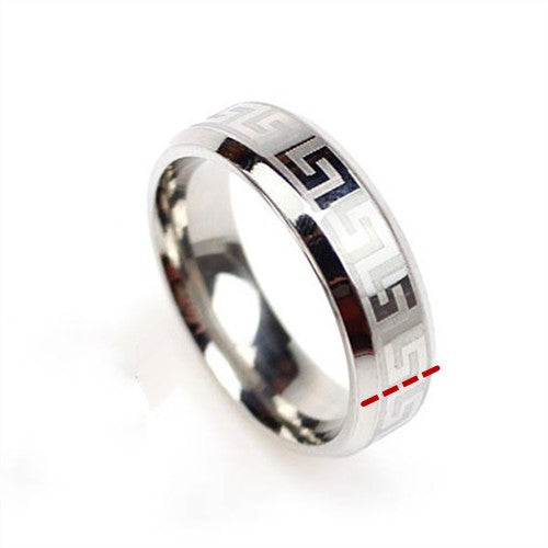 Modyle 2016 NEW Carbon Fiber Simple Men Ring 8mm Stainless Steel 3 Colors Fashion Rings Jewelry Free shipping