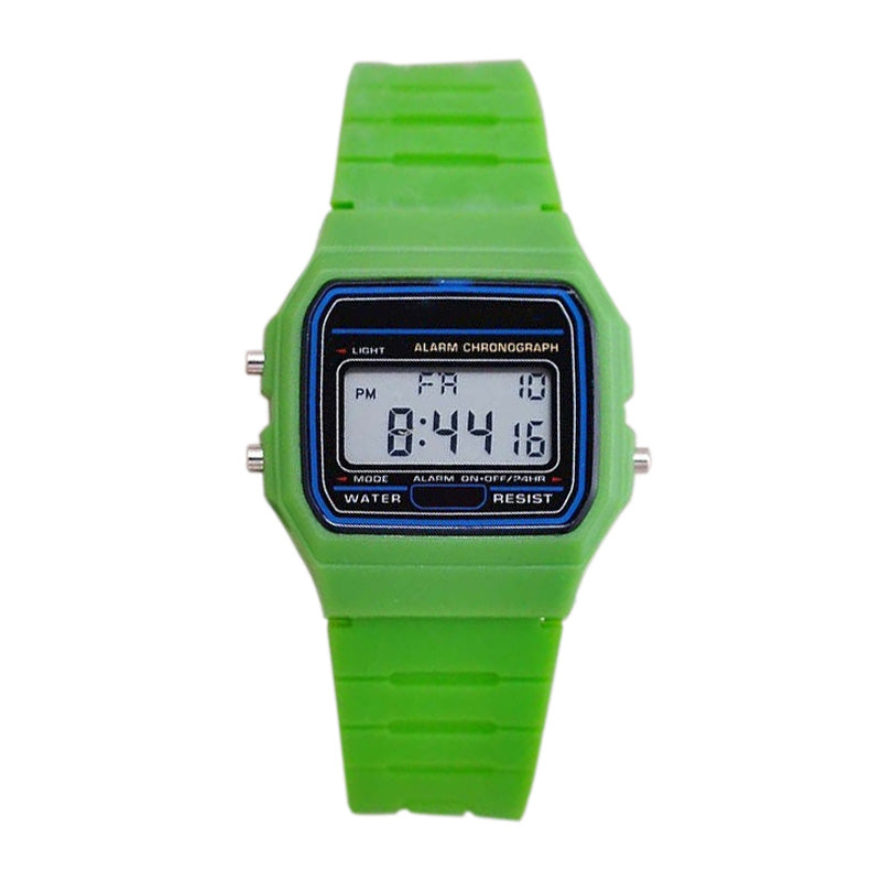 Multifunctional Digital Wristwatches lover's Sports Watches Silica gel brand LED watch Stopwatch alarm clock Luminous 7 color