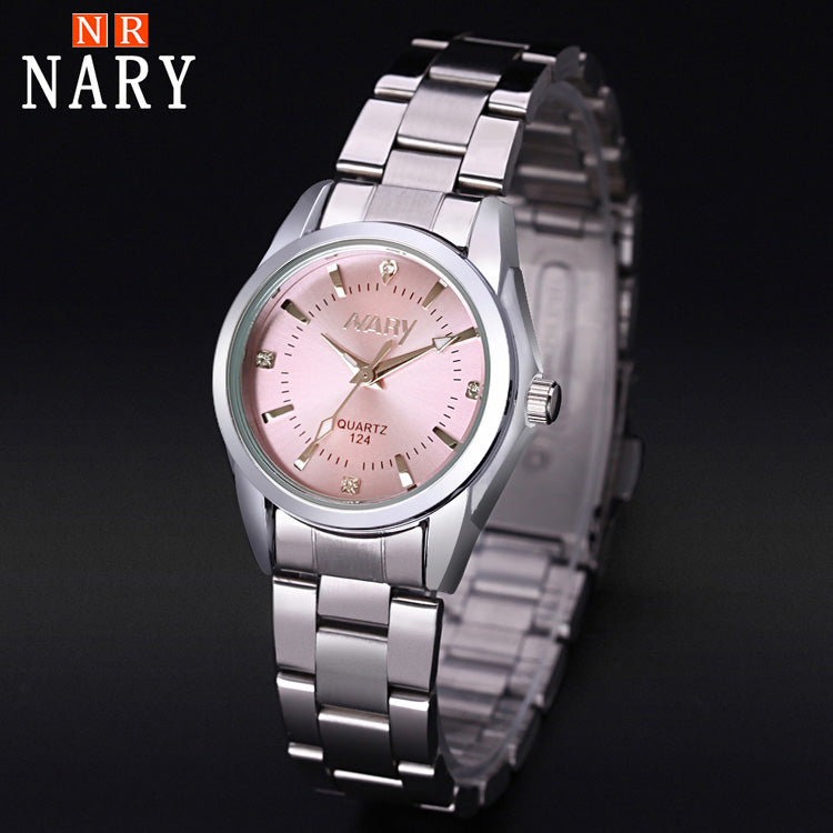 NARY New Fashion watch women's Rhinestone quartz watch relogio feminino the women wrist watch dress fashion watch reloj mujer