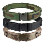 NEW Men Belts Luxury Woodland Camouflage Waistband Tactical Military Hunting Belts Accessories High Quality