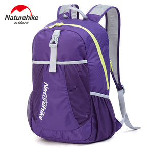 NatureHike Backpack Sport Men Travel Backpack Women Backpack Ultralight Outdoor Leisure School Backpacks Bags 22L 5 Colors