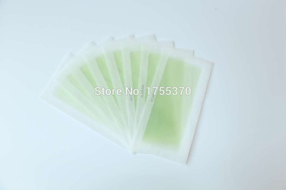 New 5pcs 2 Sides Use Roll On Hair Remover Wax Strips Depilatory Wax Paper Epilator Set For Face / Legs / Bikini