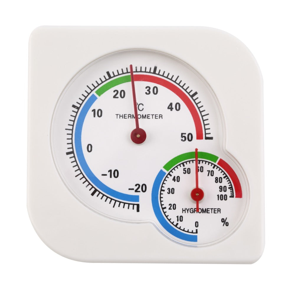 New Arrival Classic Homeuse Indoor Outdoor 2 In 1 Mini Accurate Wet Hygrometer Humidity Thermometer Temperature Meter Mechanical