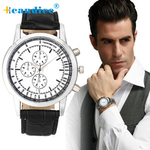 New Luxury Brand Watches Men Lot Watch Geneva Men Business Design Dial Leather Band Analog Quartz Wrist Watch Casual Male