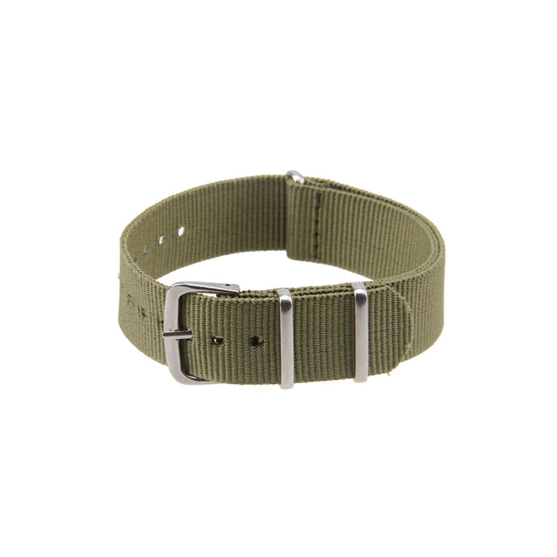 Original Luxury Causal 18mm,20mm,22mm Military Army Nylon Fabric Watch Band Strap Alloy Buckle Wrist WatchBand For Watches