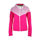 Original NIKE RU MIX FABRIC WINDRUNN Women's jackets Hooded Sportswear