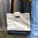 Vintage 90s polo sport tote bag