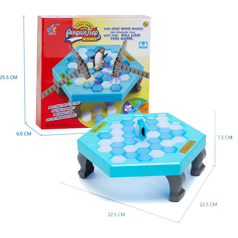 Penguin trap interactive Ice Breaking Table Penguin Trap antistress toy activate fun toy for kids Family funny game zg007