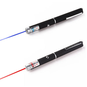 Powerful Red/Purple 2 Colors Laser Pointer Pen violet teaching presenter Beam Light High Power Hunting laser Sight device