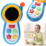 Pretend Mobile Phone Special DesignToy Baby Kids Learning Study Cute Musical Sound Children Educational Toys For Birthday Gift