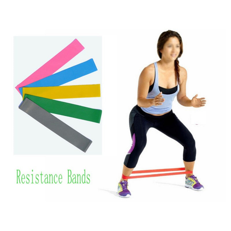 Pro Resistance Bands LOOP Light/Med/Heavy Crossfit Exercise Sports Yoga Pilates TrainingTubing Strap Fitness Equipment NEW