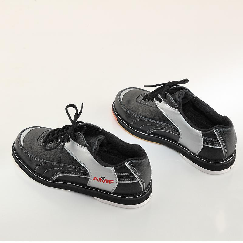 Professional bowling shoes men women special sports shoes orange and black spell color men shoes