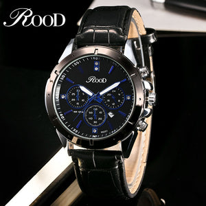 Reloj Hombre ROOD 232 Brand Simple Fashion Casual Business Watches Men Date Waterproof Quartz Mens Watch relogio masculino
