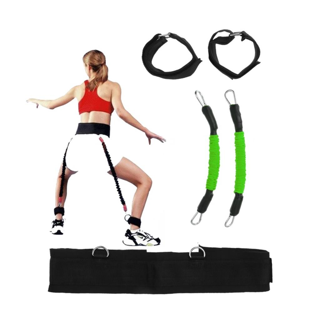 Resistance Band Fitness Bounce Trainer Rope Basketball Tennis Running Jump Leg Strength Agility Training Strap Fitness Equipment