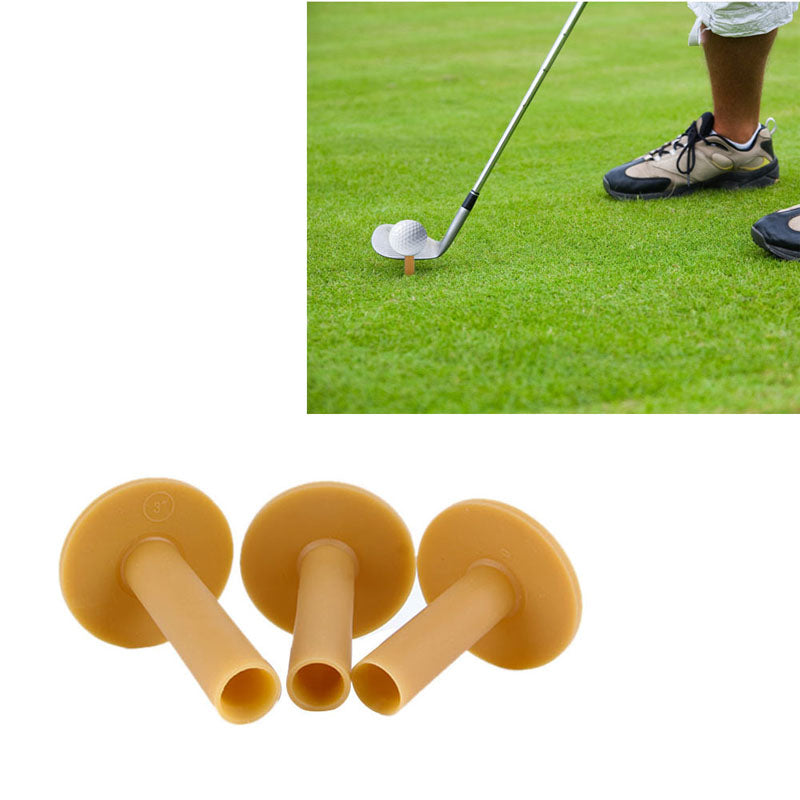 Rubber Driving Range Golf Tees Holder Tee Home Training Practice Mat 60/70/80mm
