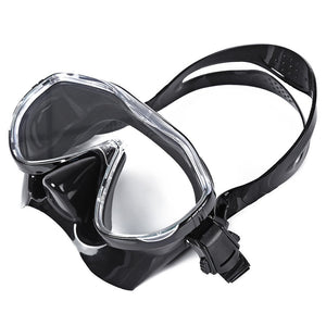 Scuba Diving Silicone Mask Snorkel Durable Safe Professional Wear Resistant Diving Mask Set Soft Comfortable Swimming Set