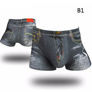 Sexy Mens Underwear Boxers Shorts Men Boxer Trunks Brand underwear Casual boxer 3D print New Arrival men shorts New Fashion
