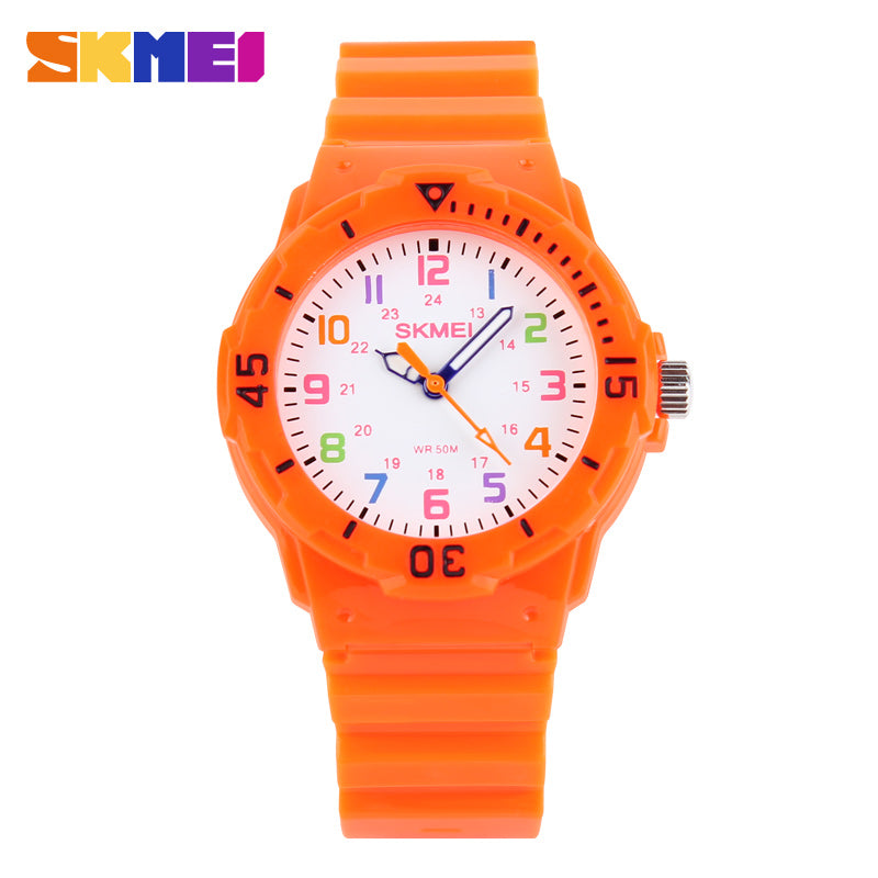Skmei Children Watch Fashion Casual Watches Quartz Wristwatches Waterproof Jelly Kids Clock boys Hours girls Students Wristwatch