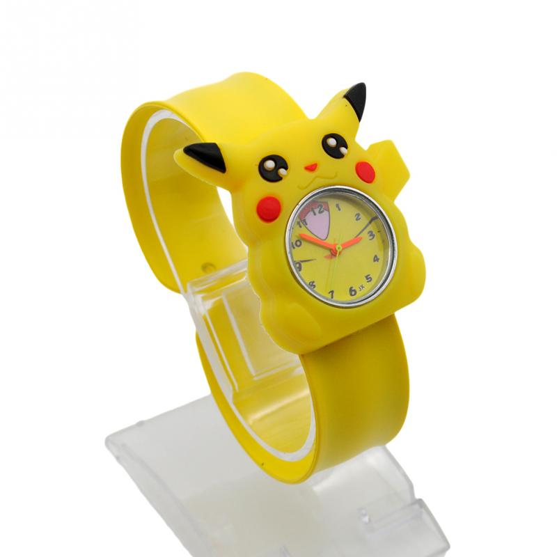 cartoon watches for batman products high quality silicone gift pikachu snap sports wristwatch children christmas slap kids