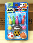 Sports Bowling balls eraser student stationery necessity lovely cartoon gift