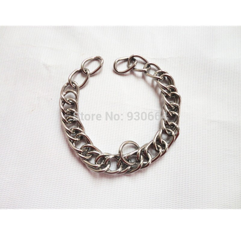 Stainless Steel Double Link Curb Chain For Horse Bits, Pet