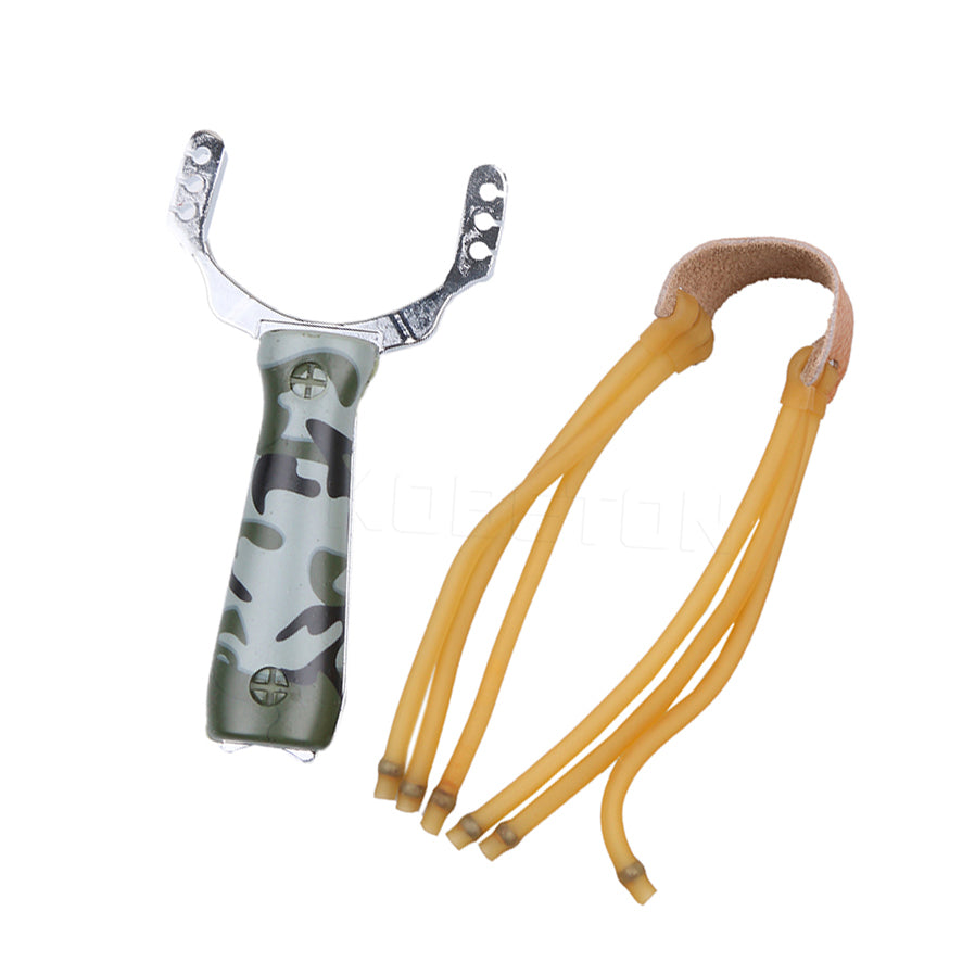 Super Powerful Sling shot Slingshot Aluminium Alloy Camouflage Bow Catapult Outdoor Game Hunting Hunt Tool Accessories