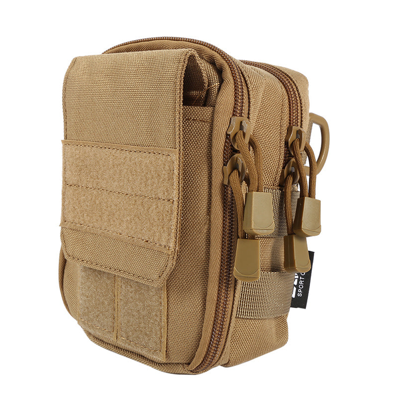 Tactical Military Hunting Small Utility Pouch Pack Army Molle Cover Scheme Field Sundries Outdoor Sports Bags Mess Briefcase
