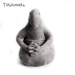 The Tubby Gray Blob Zhdun Toy Snorp Plush Zhdun Meme Plush Doll Homunculus Loxodontus