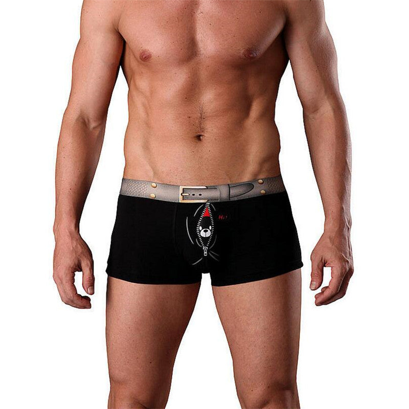 Underwear Mens Boxer Cotton Boxer Homme Pull in Underwear Male Panties Mens Underwear Boxers Man Underwear Model Underpants 1001