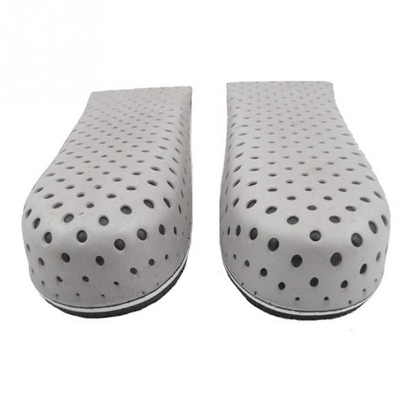 Unisex Increasing Orthotics Half Insole Pad Height Cushion Taller Male Female Footwear Shoes Height Cushion Taller