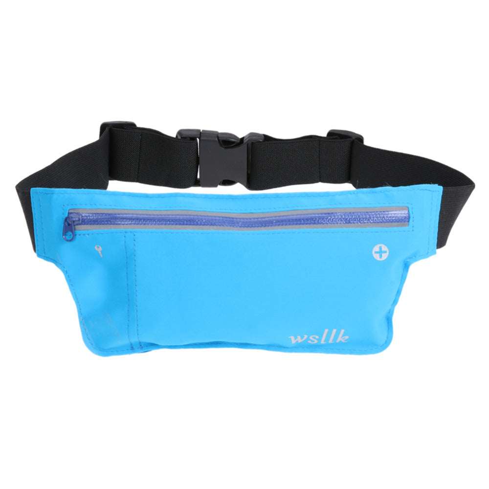 Unisex Multifunction Cycling Running Hip Money Belt Waist Bag Fanny Pack Men Women Waterproof Phone Bag Outdoor Sports Gym Bags