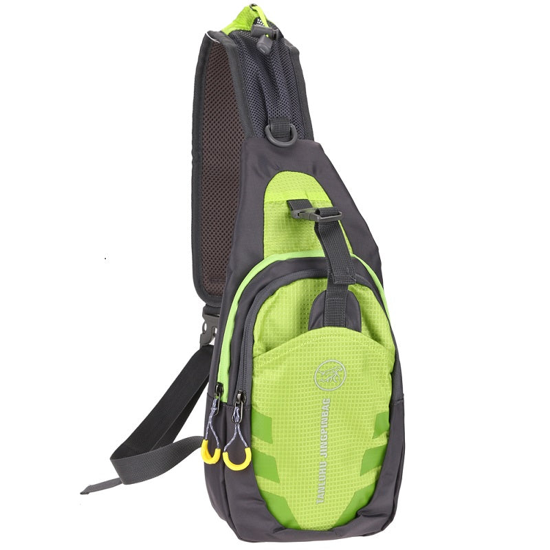 Unisex Oxford Chest Bag Outdoor Sports Travel Hiking Shoulder Sling Backpack Pouch Functional Fanny Bags Waist Pack
