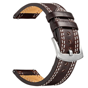 V-MORO Genuine Leather Strap For Samsung Gear S3 Band Replacement Watch Bracelet For Gear S3 Classic frontier Smart watch