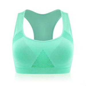 VEAMORS Absorb Sweat Seamless Sports Bras, Women Wirefree Padded Yoga Bra Underwear ,Athletic Vest Gym Fitness Running Tank Tops